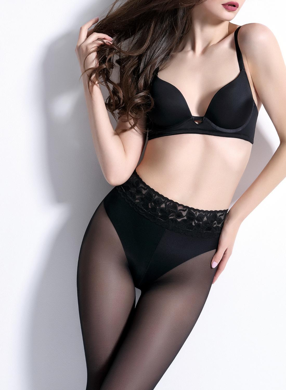 f967261cdb6 Giulia Impresso Matt 40 lace belt tights - pantyhose - punčochové kalhoty -  punčocháče - silonky