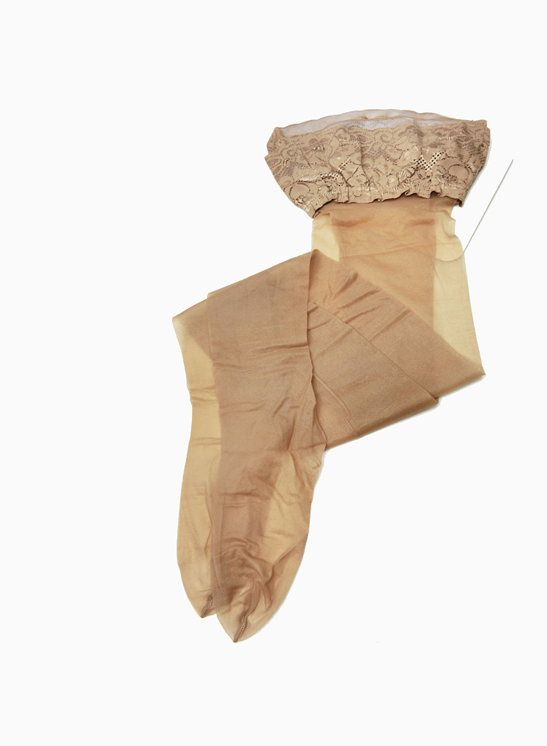 Platino Nacar Bas 10 thin matt stocking