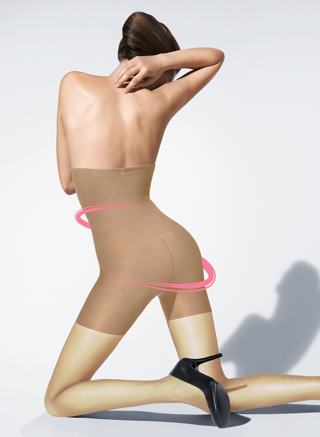 Platino Shape 9 ultrasheer shaper tights